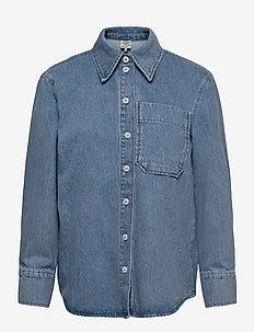 MAHIN - langærmede skjorter - light denim