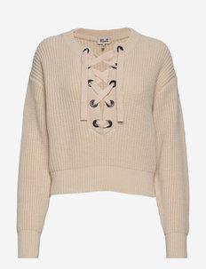 CARRA - pullover - whitecap grey