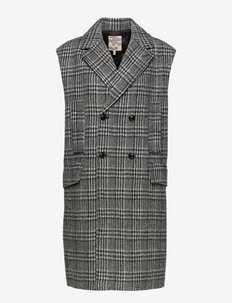 Decka - blazere uten ermer - black