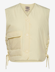 BRYAH - puffer vests - afterglow