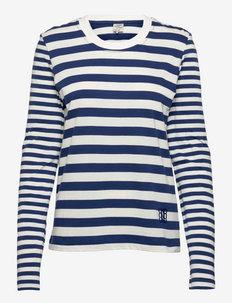 JOANO - t-shirts & tops - blue sailor stripe