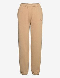 JEANTELLE - sweatpants - camel