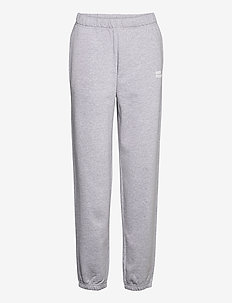 JEANTELLE - sweatpants - grey melange
