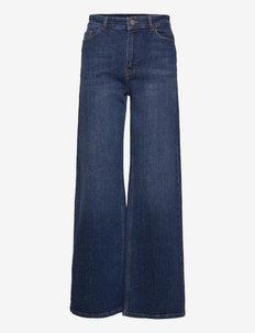 NOLANY - broeken met wijde pijpen - harbor blue