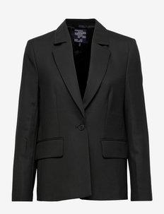 BEE - enkeltspent blazer - black