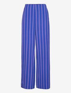 NASSIMA - uitlopende broeken - bluing pink stripe