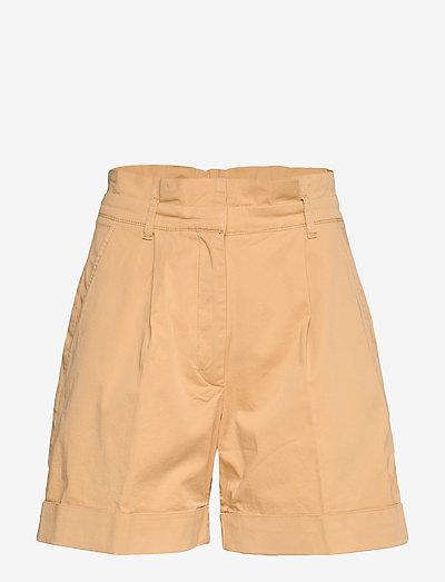 NORAH - paper bag shorts - new wheat yellow