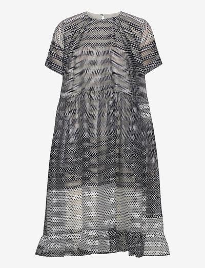 ARIA - midi dresses - polkadotgradient
