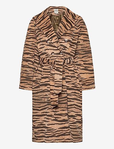 DORETTA - trenchcoats - dark tiger
