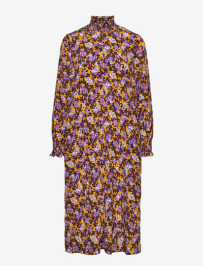 ANAMAY - midi dresses - paris flower sunshine