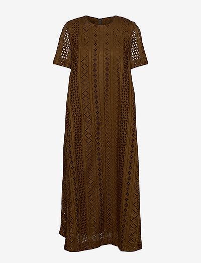 ALAISA - maxi dresses - carafe brown