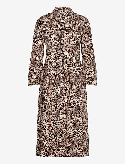 ARLENE - midi dresses - mini leo
