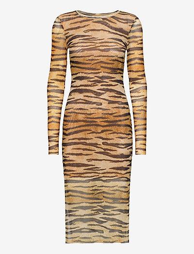 JOLANDA - bodycon dresses - naturel tiger