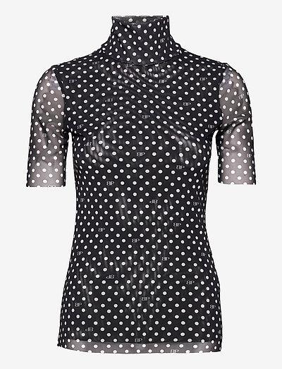 JILIANNE - t-shirts - black bp dot