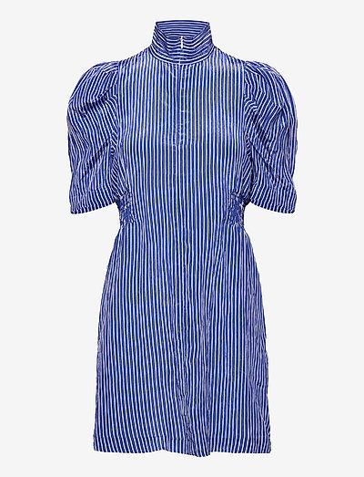 AVANY - sommerkleider - blue white stripe