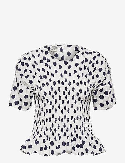 MYNOWA - blouses à manches courtes - patriot mega dot