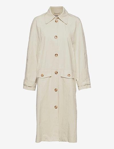 DENELIA - trenchcoats - creamy beige