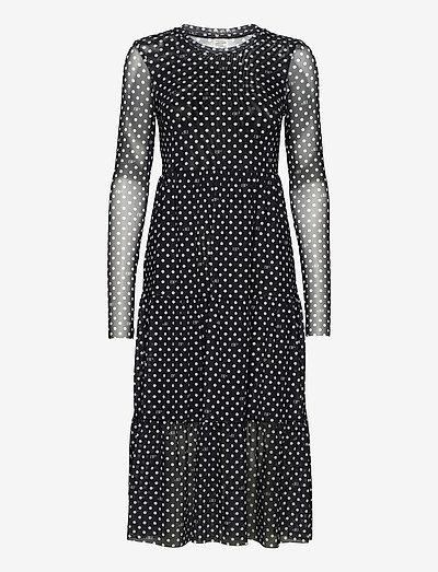 JOCELINA - summer dresses - black bp dot