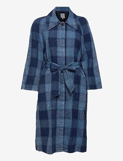 DEZIE - trenchcoats - worn indigo