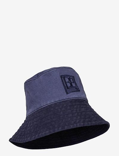 LEONA - emmer hoeden - denim blue patch