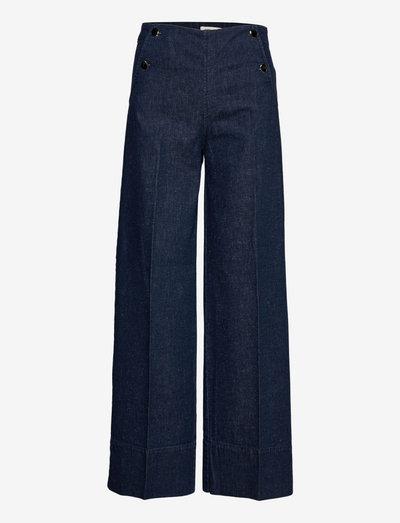 NEGEEN - vide jeans - hunter blue
