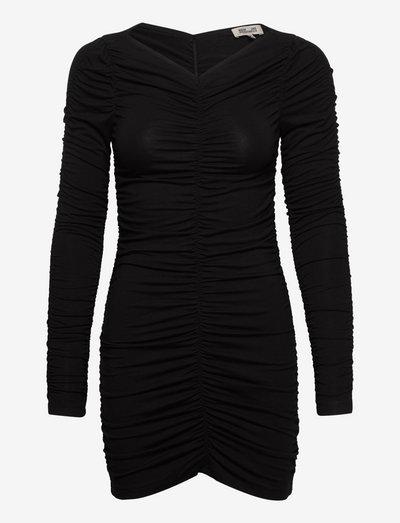 JUNEAUX - korte kjoler - black