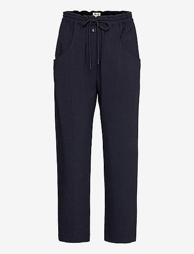 NEPA - bukser med lige ben - dark blue