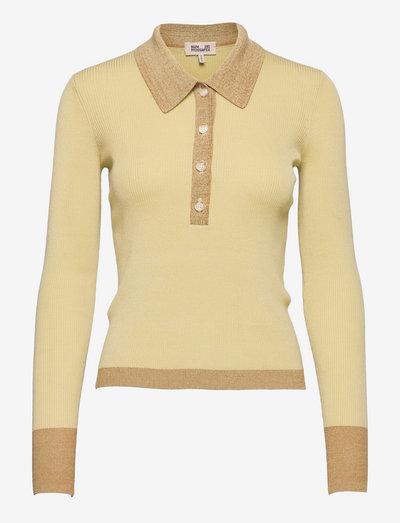 CLARIETTE - pullover - faded yellow