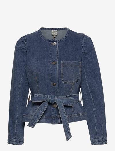BALZAK - spijkerjassen - blue washed denim
