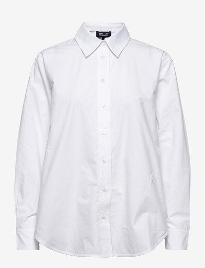 MAXENE - denimskjorter - bright white