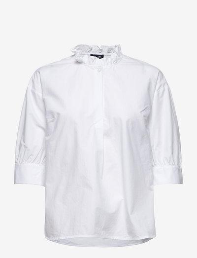 MERELLE - kortermede bluser - bright white
