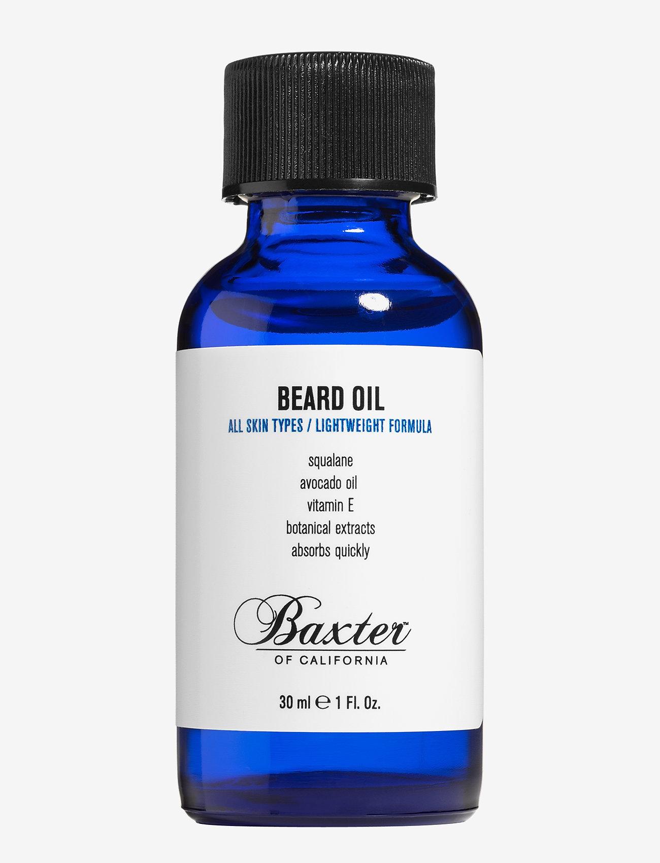Baxter of California - BEARD Oil 30ML - skægolie - no color - 0