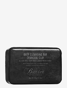 CLEANSING BAR CHARCOAL CLAY 198G - ansiktrens - no color