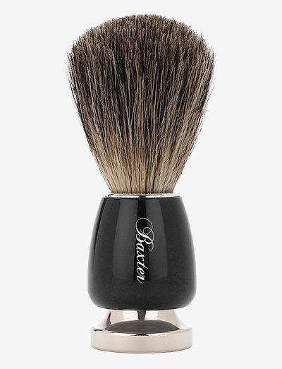 BEST BADGER BRUSH - barberkost - silver
