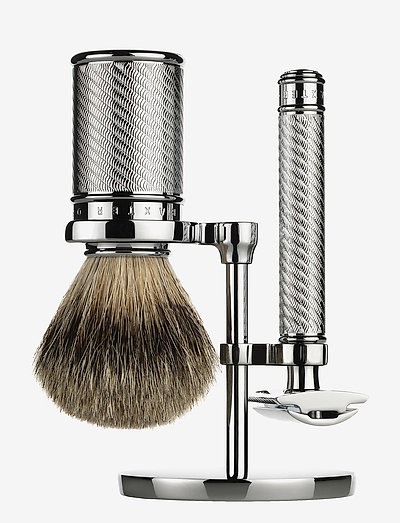 SAFETY RAZOR SET - SILVER