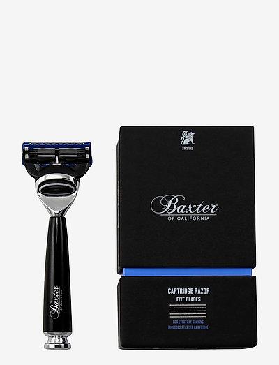 BLACK 5 BLADE RAZOR - barberskraber - black