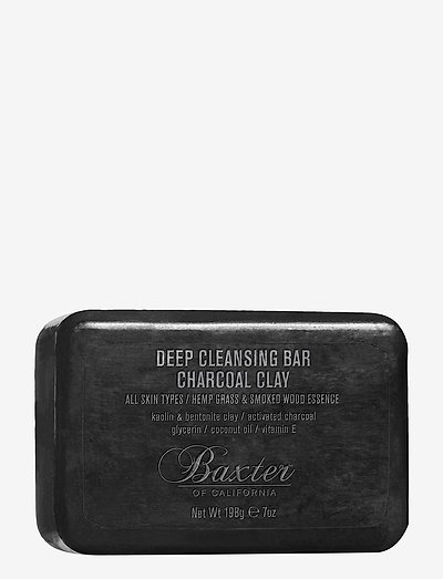 CLEANSING BAR CHARCOAL CLAY 198G - ansigtsrens - no color