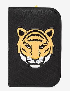 Single-section pencil case - Tiger Team - Étuis à crayons - black