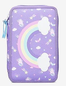 Three-section pencil case - Dream - Étuis à crayons - purple