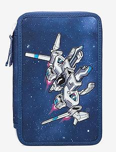 Three-section pencil case - Spaceship - Étuis à crayons - dark blue