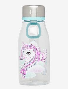 Drinking bottle 0,4L - Unicorn - clear