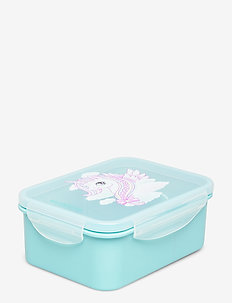 Lunch Box - Unicorn - turqouise