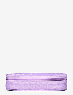 Oval pencil case, Sport Jr. - Purple - piórniki - purple