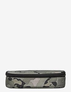 Oval pencil case, Sport Jr. - Camo - piórniki - green