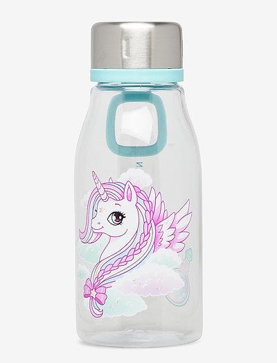 Drinking bottle 0,4L - Unicorn - vannflasker - clear