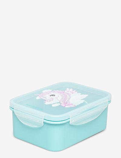 Lunch Box - Unicorn - matbokser - turqouise