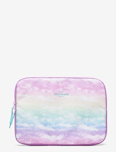 """Tablet-cover 12,9"""" - Unicorn - vesker - pink"""