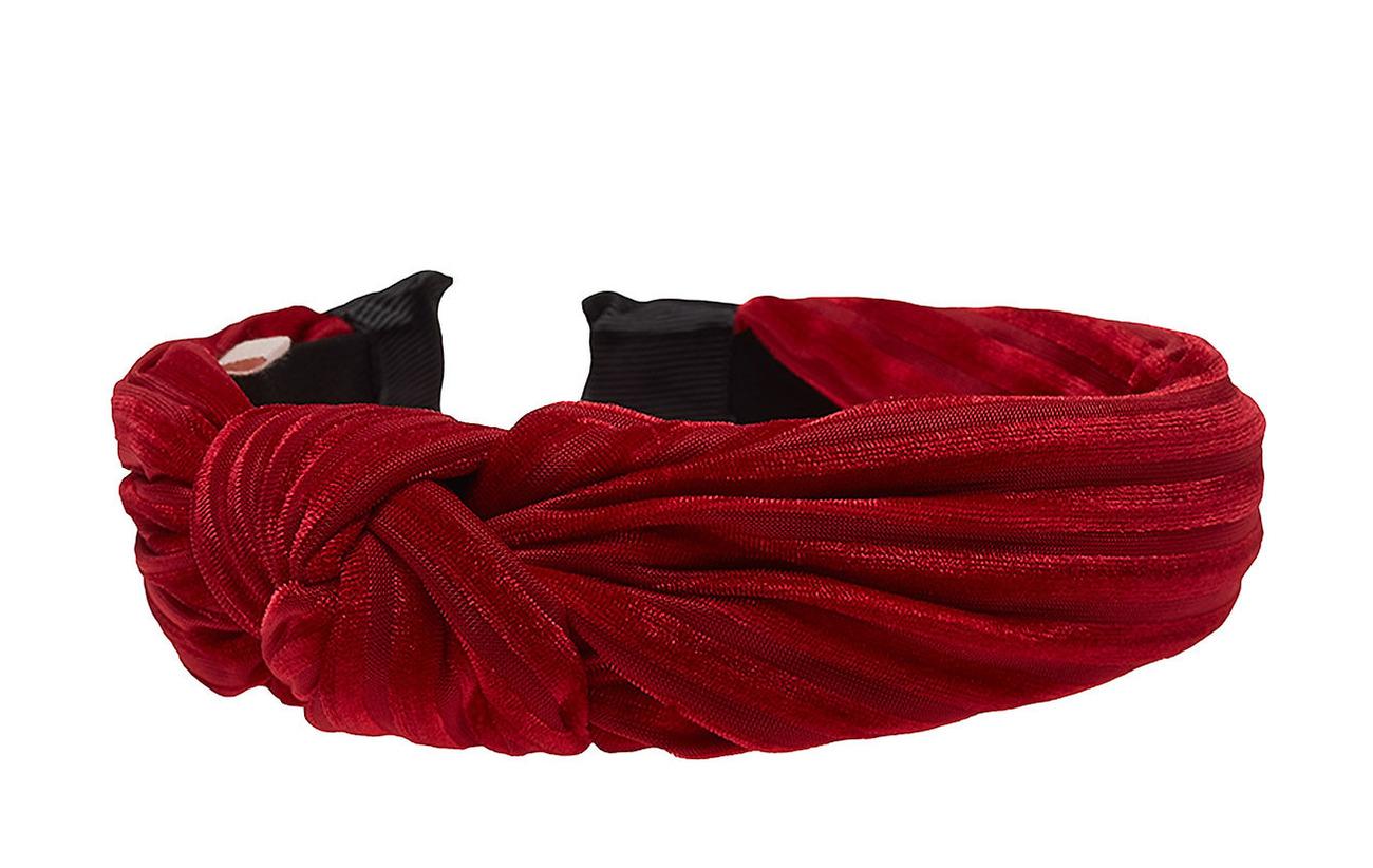 BECKSÖNDERGAARD Hairband Love - RED LOVE
