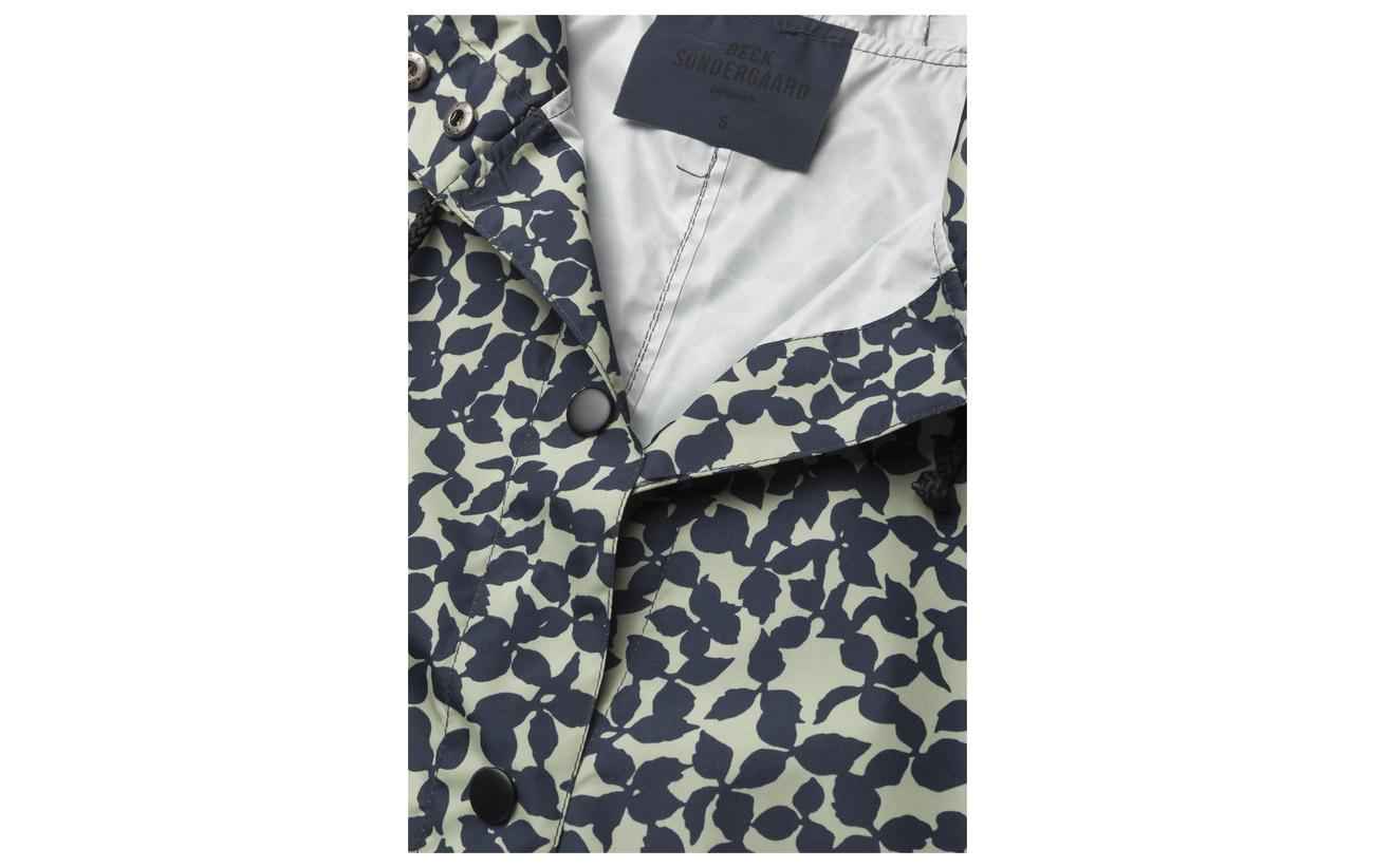 100 Flourish Magpie Becksöndergaard Blue Nights Polyester qpI5Rw5
