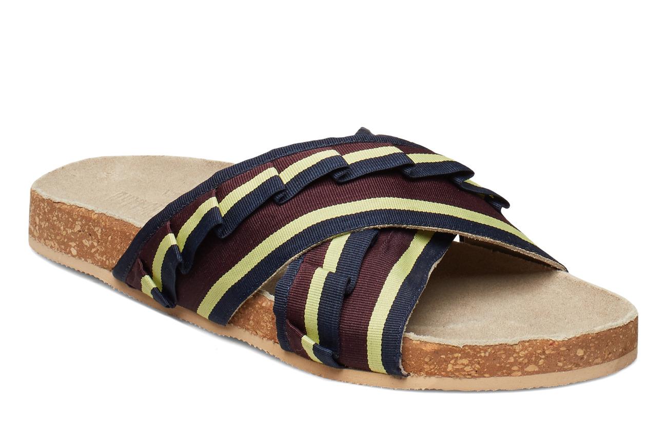 BECKSÖNDERGAARD Gary sandal - BURGUNDY